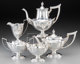 A Five-Piece Gorham Plymouth Pattern Silver Tea and Coffee Service, Providence, Rhode Island, designed 1911, man... (Tot...