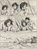 Original Comic Art:Panel Pages, Milo Manara El Gaucho (Casterman, 1995)....