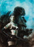 Original Comic Art:Illustrations, Luis Royo Isolde and Tristan Circuits (Norma, 2005)....