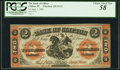 Canadian Currency, Clifton, PE- Bank of Clifton $2 Sep. 1, 1861 Ch. # 125-12-12. ...