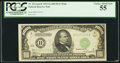 Small Size, Fr. 2211-B Mule $1,000 1934 Federal Reserve Note. PCGS Choice About New 55.. ...