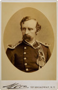 Photography:Cabinet Photos, George Armstrong Custer: A Superb Mora Cabinet Photo Taken in March 1876....