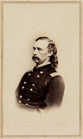 Photography:CDVs, George Armstrong Custer: A Classic Carte de Visite Pose by Anthony/ Brady. ...