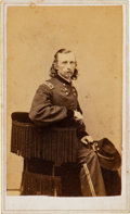 Photography:CDVs, George Armstrong Custer: A Rare Pose on this Carte de Visite by Goldin....