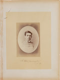 Military & Patriotic:Indian Wars, Lt. Henry M. Harrington: A Rare Large Albumen Photo of this Officer Killed at Little Bighorn. ...