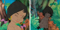 Animation Art:Production Cel, The Jungle Book Production Cels Group of 2 (Walt Disney,1967).... (Total: 2 Items)