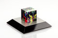 Sculpture, Yayoi Kusama (Japanese, b. 1929). Cube Love is Calling, 2013. Glass. 2 x 2 x 2 inches (5.1 x 5.1 x 5.1 cm). Edition of 5...