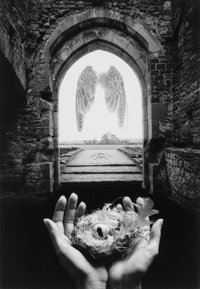 Jerry Uelsmann (American, b. 1934) Threshold, 1999 Gelatin silver 19-7/8 x 13-3/8 inches (50.5 x