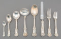 Silver & Vertu:Flatware, An Eighty-Eight Piece Tiffany & Co. English King Pattern Silver Flatware Service, New York, New York, designed 1... (Total: 88 Items)