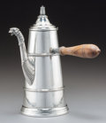 Silver Holloware, Continental:Holloware, A German Silver Figural Chocolate Pot, late 19th-early 20th century. Marks: 800, 548M. 9-5/8 inches high x 8-3/4 inches ...