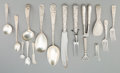 Silver & Vertu:Flatware, A Seventy-Eight Piece S. Kirk & Son Repoussé Pattern Flatware Group, Baltimore, Maryland, designed 1828. Marks: ... (Total: 78 Items)