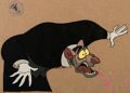 Animation Art:Production Cel, The Great Mouse Detective Professor Ratigan Production CelSetup (Walt Disney, 1986).... (Total: 2 )
