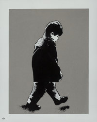 ICY and SOT (Iranian, 20th century) Little Boy, 2014 Screenprint in colors on paper 11 x 8-5/8 in