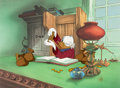 Animation Art:Limited Edition Cel, Mickey's Christmas Carol Scrooge McDuck Limited Edition Cel#183/500 (Walt Disney, 1983).... (Total: 2 Items)