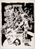 Original Comic Art:Splash Pages, Samuel Clarke Hawbaker, Ian Akin, and Brian Garvey Samuree#6 Splash Page 22 Megalith Original Art (Continuity, 19...