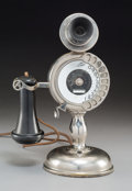Other, An Automatic Electric Co. Strowger Pot Belly Candlestick Telephone, circa 1905-1910. 12-1/2 inches high (31.8 cm). ...