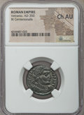 Ancients:Roman Imperial, Ancients: Vetranio (AD 350). BI centenionalis. NGC Choice AU....