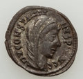 Ancients:Ancient Lots , Ancients: ANCIENT LOTS. Roman Imperial. Constantine I (AD 307-337).Lot of two (2) BI nummus or AE3/4 issues. XF.... (Total: 2 coins)