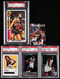 Basketball Cards:Lots, 1976 - 1997 Basketball Card Collection (5). ...