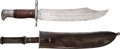 Edged Weapons:Knives, Spanish-American War: Scarce Bowie-Style Bayonet for the Krag Rifle....