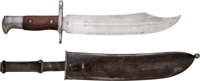 Spanish-American War: Scarce Bowie-Style Bayonet for the Krag Rifle