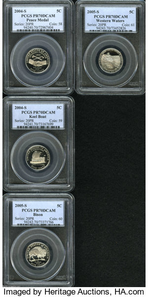 2004 S 5c Peace Medal Pr70 Deep Cameo Pcgs Perfect Save For