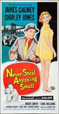 "Movie Posters:Crime, Never Steal Anything Small & Others Lot (UniversalInternational, 1959). Three Sheets (2) (41"" X 77.5"", 79"") &Ones Sheets (... (Total: 4 Items)"