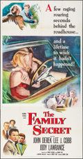 "Movie Posters:Crime, The Family Secret (Columbia, 1951). Three Sheet (41"" X 79"").Crime.. ..."