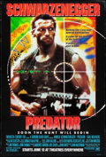 "Movie Posters:Science Fiction, Predator (20th Century Fox, 1987). Rolled, Very Fine-. One Sheet (27"" X 40"") Advance. Science Fiction.. ..."