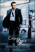 "Movie Posters:James Bond, Casino Royale (MGM, 2006). One Sheet (27.75"" X 39.75"") DS Advance. James Bond.. ..."