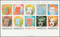 "Movie Posters:Miscellaneous, Marilyn Monroe by Andy Warhol (Museum of Contemporary Art in Ghent,1980s). Museum Poster (37.5"" X 23.5""). Miscellaneous.. ..."