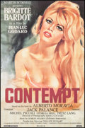 """Movie Posters:Foreign, Le Mepris (Canal, R-2000). One Sheet (27"""" X 40"""") SS, Gilbert Allard Artwork, Alternate Title: Contempt. Foreign.. ..."""