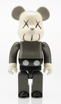Fine Art - Sculpture, American:Contemporary (1950 to present), KAWS X BE@RBRICK. Companion 400%, 2002. Painted cast vinyl.11 x 6 inches (27.9 x 15.2 cm). Stamped on the reverse. Publ...