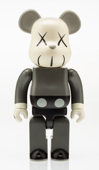 KAWS X BE@RBRICK Companion 400%, 2002 Painted cast vinyl 11 x 6 inches (27.9 x 15.2 cm) Stampe