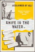 """Movie Posters:Foreign, Knife in the Water (Contemporary, 1962). British Double Crown (20"""" X 30"""") DS. Foreign.. ..."""