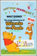 """Movie Posters:Animation, The Many Adventures of Winnie the Pooh (Buena Vista, 1977). One Sheet (27"""" X 41""""). Animation.. ..."""