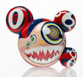 Fine Art - Sculpture, American:Contemporary (1950 to present), Takashi Murakami (Japanese, b. 1962). Mr. Dob (Red), 2016.Painted cast vinyl. 9-1/4 x 10-3/4 inches (23.5 x 27.3 cm). E...