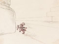 Animation Art:Production Drawing, Pinocchio Jiminy Cricket Layout Drawing (Walt Disney,1940)....