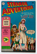 Golden Age (1938-1955):Science Fiction, Strange Adventures #51 (DC, 1954) Condition: FN/VF....
