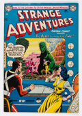 Golden Age (1938-1955):Science Fiction, Strange Adventures #41 (DC, 1954) Condition: FN+....