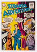 Golden Age (1938-1955):Science Fiction, Strange Adventures #57 (DC, 1955) Condition: FN/VF....