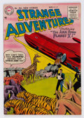 Golden Age (1938-1955):Science Fiction, Strange Adventures #59 (DC, 1955) Condition: FN/VF....