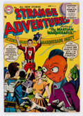 Golden Age (1938-1955):Science Fiction, Strange Adventures #67 (DC, 1956) Condition: FN/VF....
