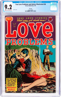 True Love Problems and Advice Illustrated #28 File Copy (Harvey, 1954) CGC NM- 9.2 Cream to off-white pages
