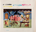 Animation Art:Poster, Walt Disney's Cinderella Storybook Art Press Proof Sheets Group of 11 (Walt Disney/Simon and Shuster, 1950).... (Total: 11 Items)