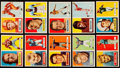 Football Cards:Lots, 1957 Topps Football Collection (110). ...