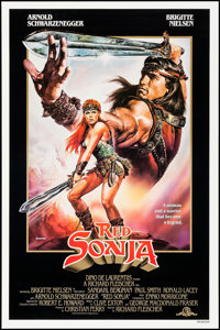 """Red Sonja & Others Lot (MGM, 1985). One Sheets (4) (26"""" X 40"""" & 27"""" X 41"""") SS, Renato Casaro..."""