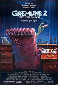 "Gremlins 2: The New Batch & Other Lot (Warner Brothers, 1990). One Sheets (2) (27"" X 40"") DS, Greg Win..."