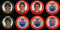 Hockey Cards:Sets, 1984-85 7-Eleven Hockey Discs Complete Sets Lot of 2. ...