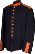 Military & Patriotic:Indian Wars, 1872-Pattern Signal Corps 9-Button Dress Coat....